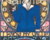 CULT TV Tarot Agent Carter postcard PRINT