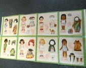 New Paper Dolls from Newcastle Fabrics Ethnic - Sewing Fabric Panel