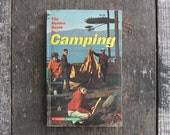 Vintage 1965 Camping Guide Book / Golden Nature Guide Book