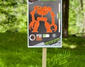 Nerf N-Strike Shooting Target - Party Printable Decorations - INSTANT DOWNLOAD