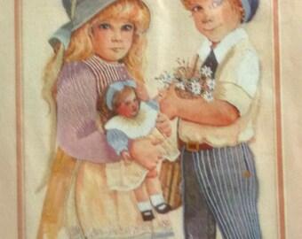 Spring and Lance Jan Hagara Needle Treasures Stitchery Crewel Kit