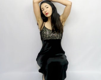 Long Formal Dress - Black - Formal Dress - Vintage NWT