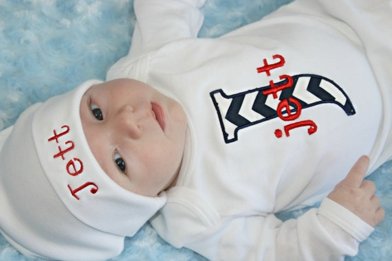 Items similar to Personalized Baby Boy Clothes Newborn Boy ...