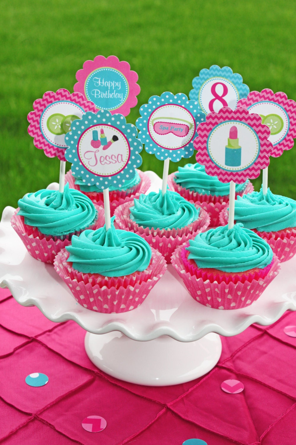 Spa Girls Birthday Party Decorations Printable By