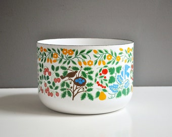 Mid-Century Enamel Kobe Kitchen Mixing Bowl