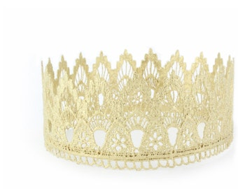 Lace Crown    Sienna Original FULL SIZE lace crown    photography prop   Toddler-Adult    custom sizes    very sturdy + WASHABLE