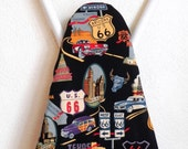 Ironing Board Cover - Route 66 Fabric - Laundry and Housewares
