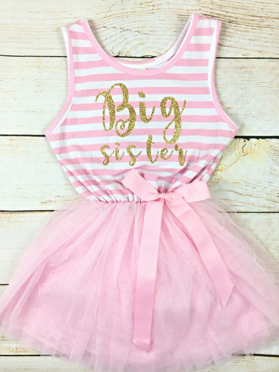 foto de PREORDER SALE Big Sister Tutu Dress / Custom by OllieandPenny