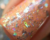 New! Something Prismatic ~ micro glitter flakie holo Indie Nail Polish by MDJ Creations