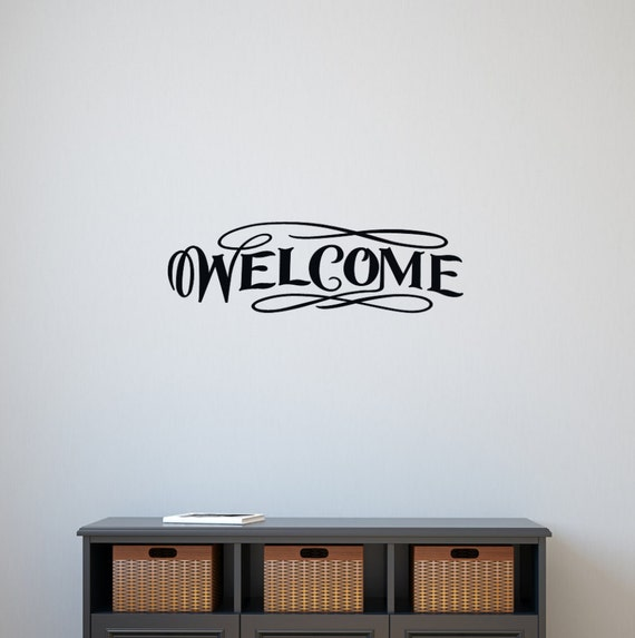 Welcome Vinyl Wall Decal 22069 | Wall Decor