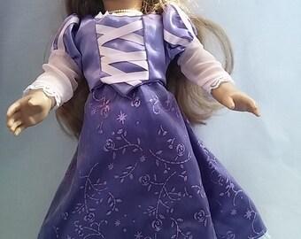 American Girl Rapunzel Princess Dress