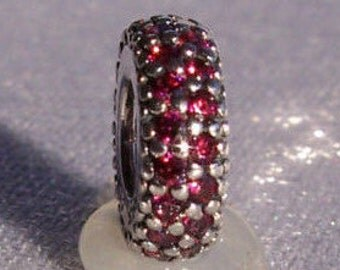 PANDORA Inspiration Within Red Cz Charm FREE SHIPPING