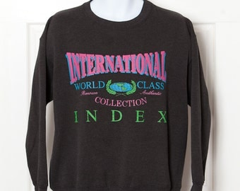 Vintage Early 90s Sweatshirt - INTERNATIONAL INDEX