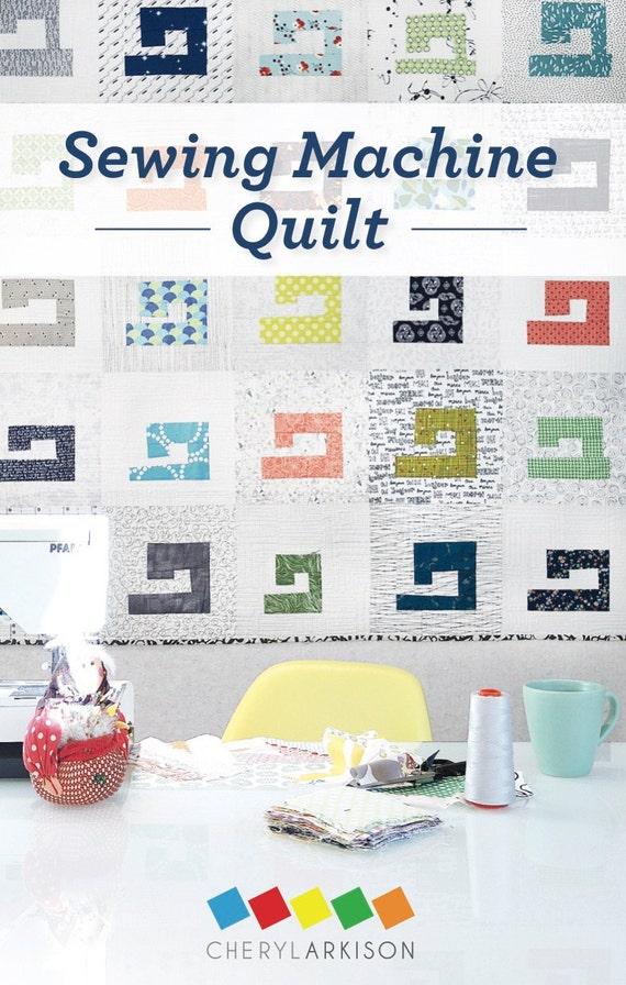 Sewing Machine Quilt Pattern - PDF