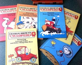 6 volumes of Charlie Brown's 'Cyclopedia