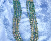 NevadaTurquoise and Melon Shell Necklace, Navajo Jewelry,