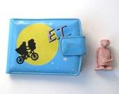 ET Wallet, Alien Figure, 1982, Extra Terrestrial, Space Man, Phone Home