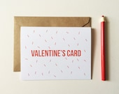 Funny Valentines Card - Valentine for Dad -  Valentine for Mom - Love Card - I love you Card
