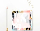 Abstract Notepad for Grocery List Stationary Teacher Stationery Gift  Notepad Set