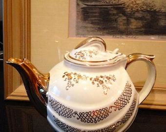 Hollywood Regency Hall Teapot 1930s