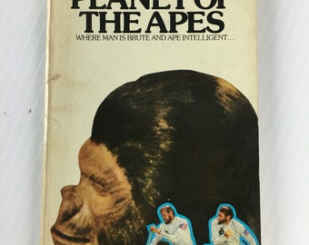 Planet of the Apes by Pierre Boulle - Vintage Paperback 1964 Signet