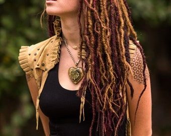 Custom Full Twisted Synthetic Dread Kit 50 Double Ended Dreads OR 100 Single Ended Dreads