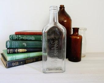 Vintage Bottle // Watkins // Rustic Décor // Wedding Decor // Potion Bottle // Halloween // Harry Potter