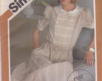 Innocent Dress Pattern Simplicity 6275 Sizes 10 12 14 Uncut