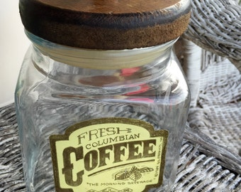 Fresh Columbian Coffee Container