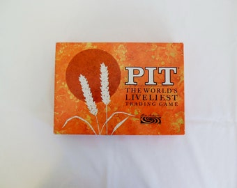 Pit Trading Card Game Parker Brothers Complete with 65 Cards Tray and Rules