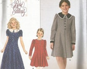 Pattern Simplicity #8825  Girls Dress  Easter  Sizes 7-14  Uncut