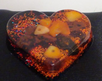 Resin Jewelry,Jewelry heart resin ,Jewelry supplies,Crafts,Handmade,in USA,OOAK,jewelry art,Valentines,Mother's day, pendant,ring, wedding