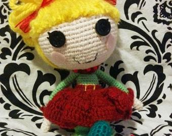 Lalaloopsy Crochet doll Holiday Edition