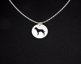 Rottweiler Necklace - Rottweiler Jewelry - Rottweiler Gift