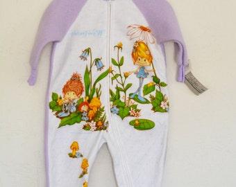 Vintage Herself the Elf Footie Pajamas