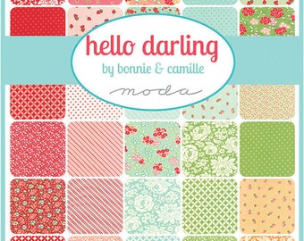Hello Darling Fat Quarter Bundle by Bonnie and Camille for Moda - 40 SKUS - 55110AB