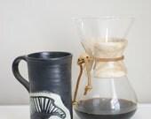 Satin black Bison Roam mug