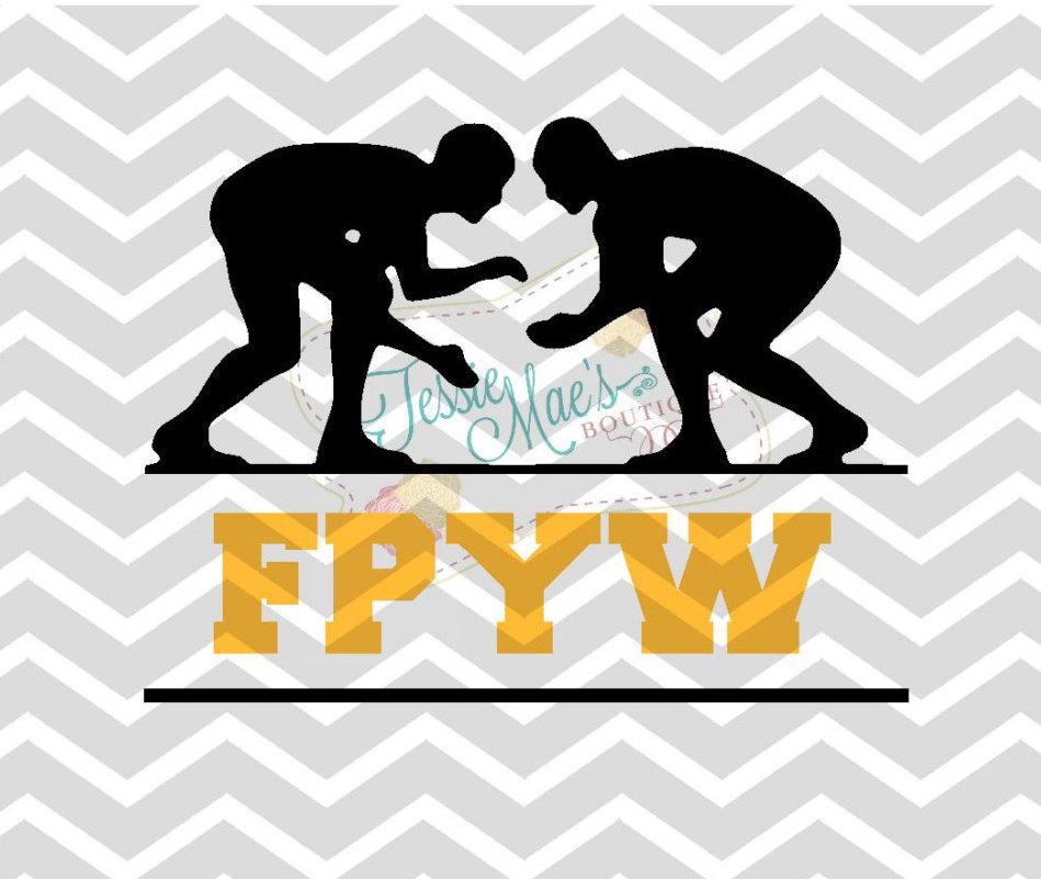 Wrestling Boys Wrestlers Svg Dxf Eps Digital Image