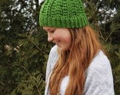 Women's Winter Hat, Crochet Cable Hat, Women's Winter Hat, Made to Order