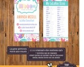 DIGITAL - LuLaRoe Business Cards - Size Card - Buy 10 Card - Fonts and Colors LuLaRoe approved -Item LuLaBC0010