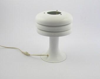 Hans-agne Jakobsson aluminium desklamp, white Swedish design table lamp