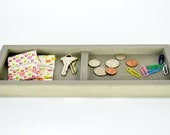 SALE : Concrete Valet Tray / Catchall Tray