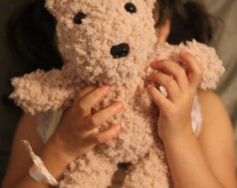 Soft and Cuddly Crochet Classic Teddy Bear