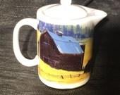 Barn Teapot