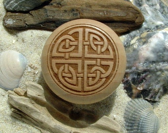 Furniture knob engraving beech Celtic knot Celtic - furniture knob - Maple - celtic knot