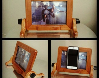 Picture Frame and Electronic Device Holder