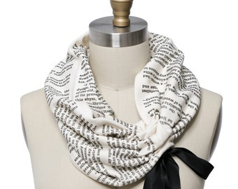 A Tale of Two Cities Light Weight Summer Book Scarf