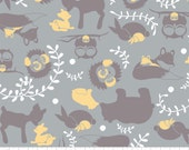 Woodland Serenity Cotton Flannel Fabric, by the half yard