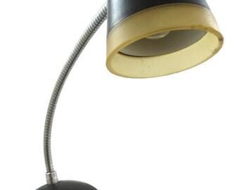 Gooseneck Desk Lamp - Retro Gooseneck Lamp - Penetrate Corp Desk Lamp -  Mid Century Desk Lamp - Mad Men Desk Lamp - Free Shipping