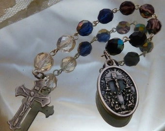 Holy Souls ~ 9 Bead Chaplet~Free US Shipping